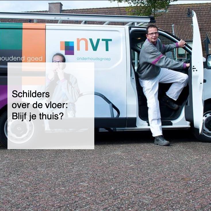 2021-02-20, Schilders over de vloer blijf je thuis - deBergen5.nl
