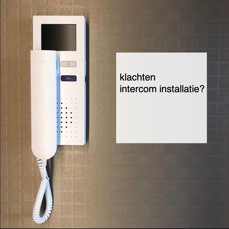 2021-03-02, klachten intercom installatie - deBergen5.nl