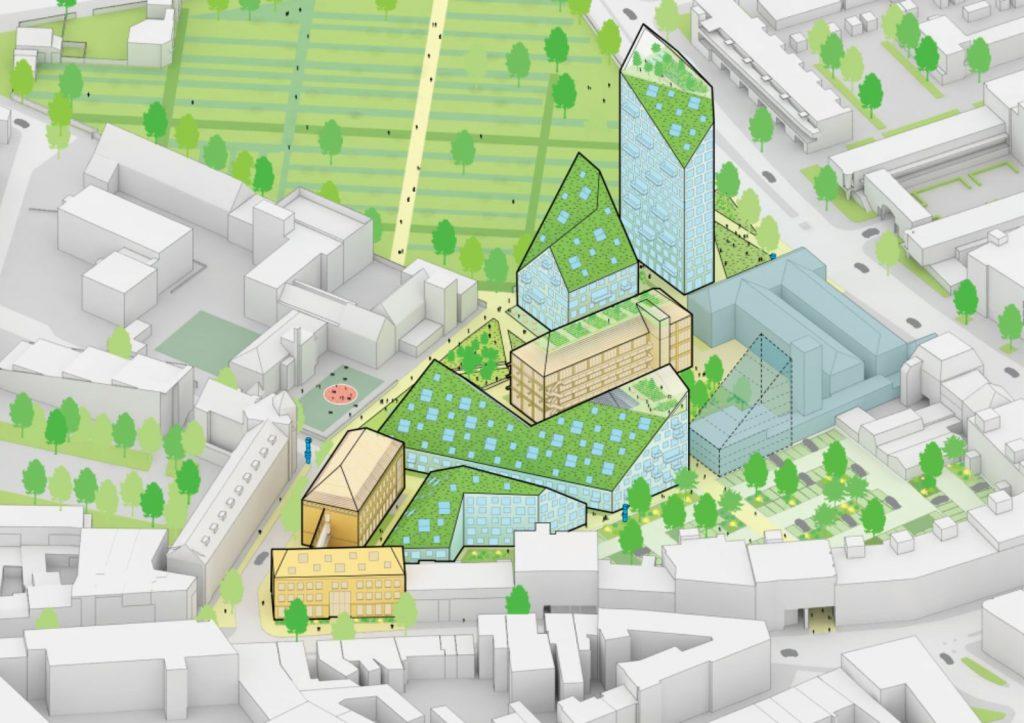2021-03-08, plangebied Nieuw Bergen - deBergen5.nl