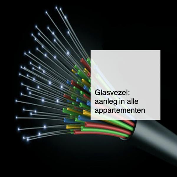 2021-06-07, glasvezel internet aanleg in alle appartementen - deBergen5.nl