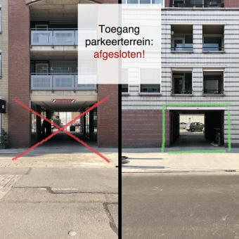 2021-08-25, Toegang parkeerterrein afgesloten! - deBergen5.nl