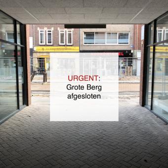 2021-09-27, URGENT Grote Berg afgesloten - de Bergen V