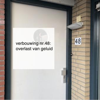 2021-10-10, Verbouwing 48 overlast van geluid - deBergen5.nl