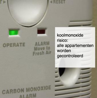 koolmonoxide risico- alle appartementen worden gecontroleerd - deBergen5.nl